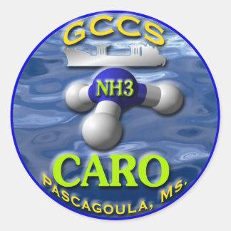 NH3CARO CLASSIC ROUND STICKER