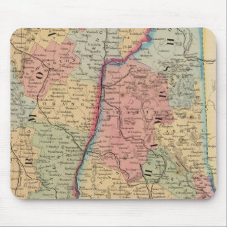 NH, Vermont Map by Mitchell Mouse Pad