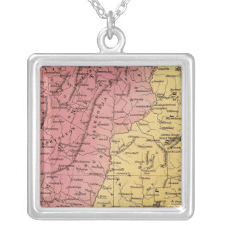 NH, Vermont Silver Plated Necklace