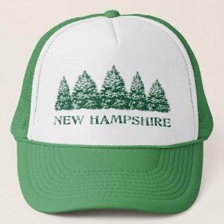NH Winter Evergreens Trucker Hat