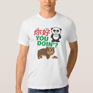 Ni Hao You Doin'? Tee Shirts