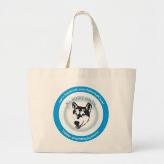 NI Husky Haven Logo Large Tote Bag