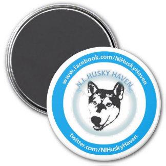 NI Husky Haven Logo Magnet