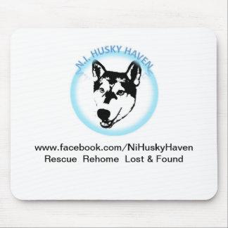 NI Husky Haven Logo Mouse Mat