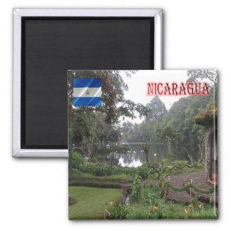 NI Nicaragua Black Forest Nature Reserve Matagalpa Square Magnet