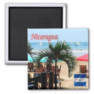 NI - Nicaragua - San Juan del Sur Square Magnet
