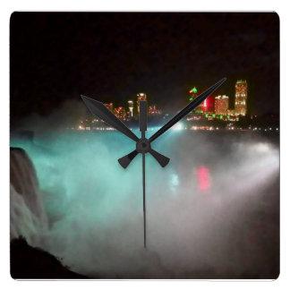 Niagara at Night Wallclock