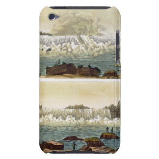 Niagara Falls, 1818 (colour engraving) iPod Case-Mate Case