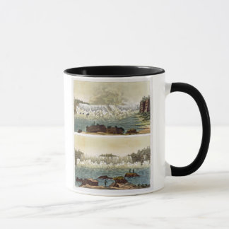Niagara Falls, 1818 (colour engraving) Mug
