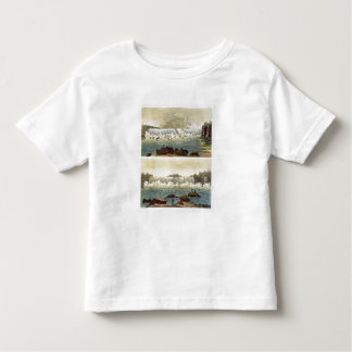 Niagara Falls, 1818 (colour engraving) Toddler T-Shirt
