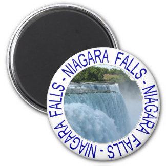Niagara Falls 6 Cm Round Magnet