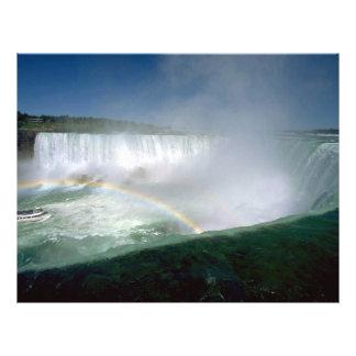 Niagara Falls and Maid of the Mist New York USA Flyer Design