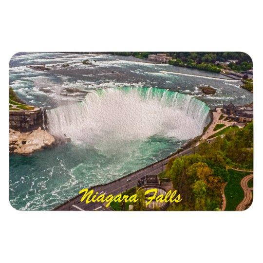 Niagara Falls Antique Sepia Flexible Magnet