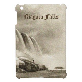 Niagara Falls Antique Sepia iPad Case