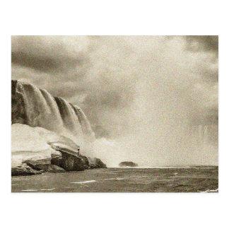 Niagara Falls Antique Sepia Post Card