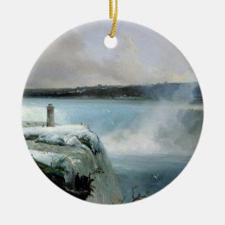 Niagara Falls, c.1837-40 (oil on canvas) Christmas Ornament