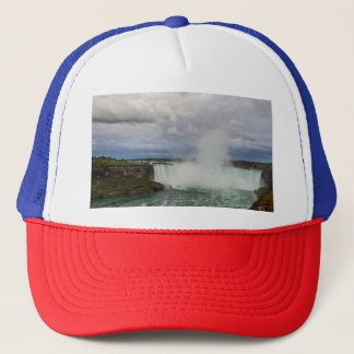 Niagara Falls, Canada, Horseshoe Falls and Clouds Trucker Hat