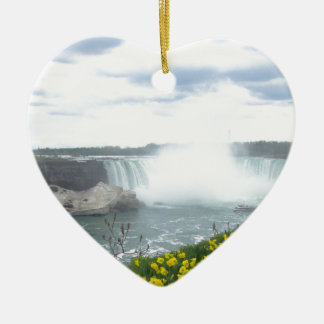 Niagara Falls Canadian Side Christmas Ornament