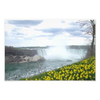 Niagara Falls Canadian Side Photograph