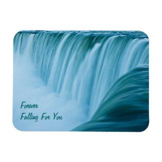 Niagara Falls Forever Falling For You Rectangular Photo Magnet