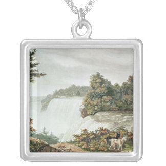 Niagara Falls, from Goat Island Silver Plated Necklace