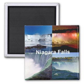 Niagara Falls New York Square Magnet