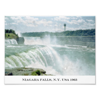 Niagara Falls New York USA Photographic Print