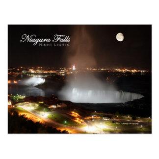 Niagara Falls Night Lights Post Cards