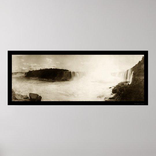 Niagara Falls, NY Photo 1896 Poster