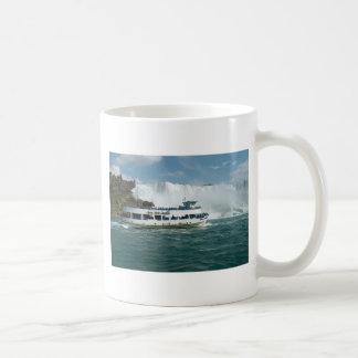 Niagara Falls Ontario Canada Boat picnic Fallsview Classic White Coffee Mug