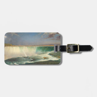 Niagara Falls Painting Luggage Tag