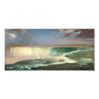 Niagara Falls Painting Photo Print