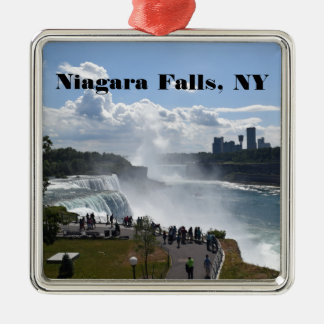 Niagara Falls Premium Square Ornaments