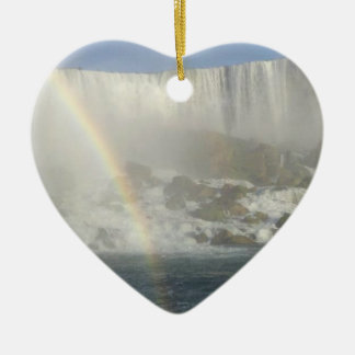 Niagara Falls Rainbow Christmas Ornament