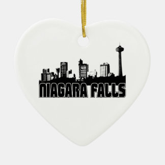 Niagara Falls Skyline Christmas Ornament