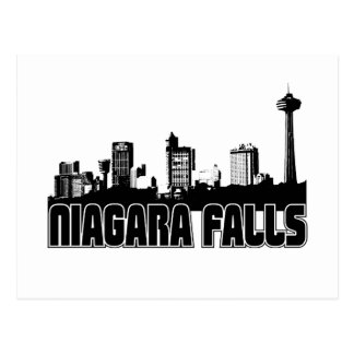 Niagara Falls Skyline Postcard