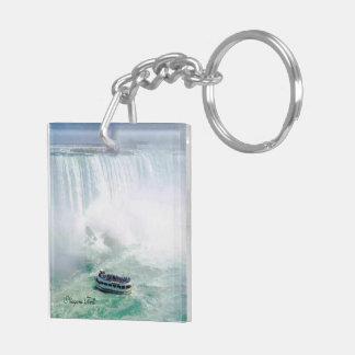 Niagara Falls Square (double-sided) KeyChain
