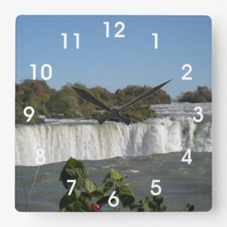 Niagara Falls Square Wall Clock