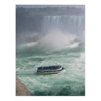 Niagara Falls Tour Postcard