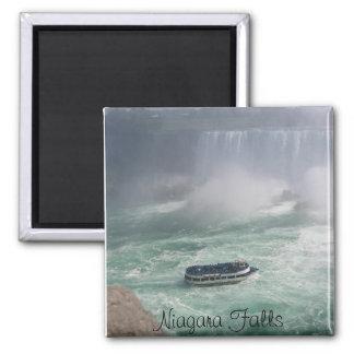 Niagara Falls Tour Square Magnet