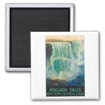 Niagara Falls Vintage Travel Poster Fridge Magnet