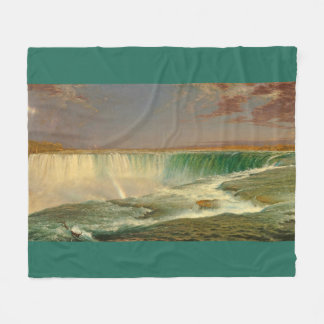 Niagara Falls Waterfall Canada Fleece Blanket