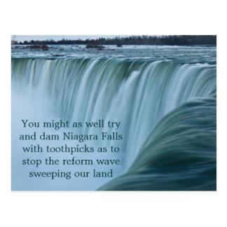 Niagara Falls Wave of Reform Post Card