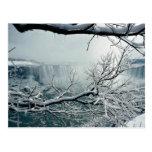 Niagara Falls winter, Ontario, Canada Post Card