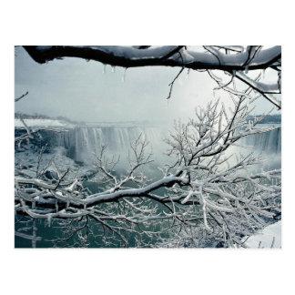Niagara Falls winter, Ontario, Canada Postcard