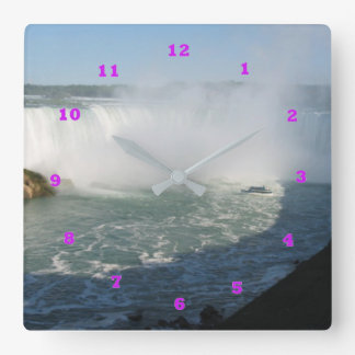 NIAGARA fallsview Niagarafalls Canada Toronto Square Wall Clock