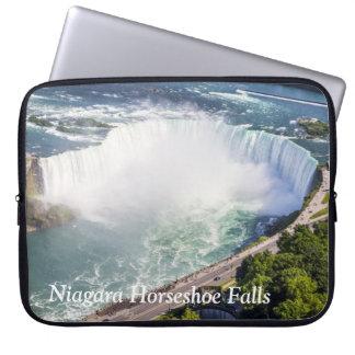 Niagara Horseshoe Falls waterfall Canada Laptop Sleeve