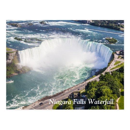 Niagara Horseshoe Falls waterfall Canada Postcard