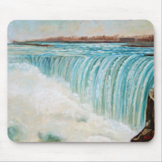 Niagara On A Fine, Cold Day Mouse Pad
