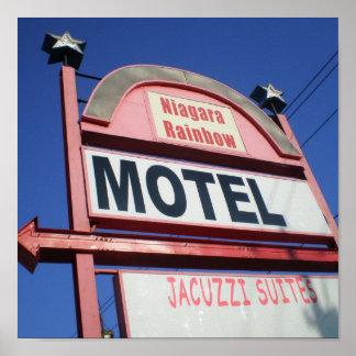 Niagara Rainbow Motel Poster